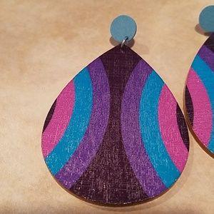 3 For $15 Peacock Festival Earrings